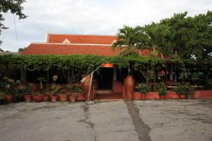 Restarurant Landhuis Daniel Curacao - Weg naar Westpunt