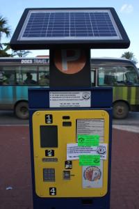 Willemstad Parkscheinautomat Curacao