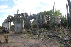 Verfallenes Landhaus Zorgvlied auf Curacao, Christoffel Park