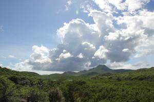 Christoffel Berg Curacao im Sonnenlicht