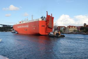 Schiff in Willemstad