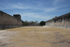 Sportplatz in Chichen Itza Mexiko