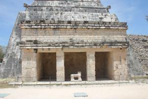 Vermutliche Tempelanlage in Chichen Itza, Mexiko