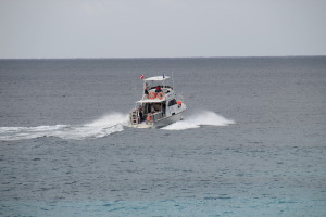 Boot auf Curacao