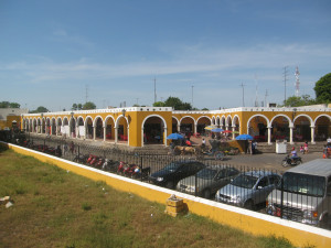 Markthalle in Izamal, Mexiko