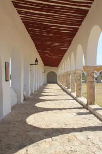Kloster Izamal in Mexiko, Wehrgang