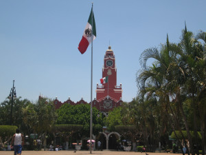 Marktplatz in Merida, Mexiko
