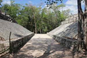Mexiko, Ballsportplatz in Coba