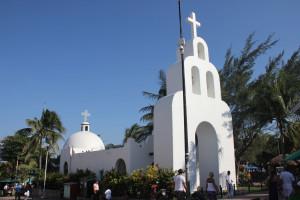 Playa del Carmen Kirche