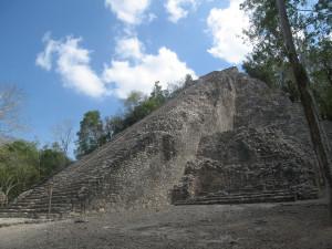 Mexiko Pyramide Coca