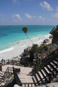 Strand in Tulum, Mexiko