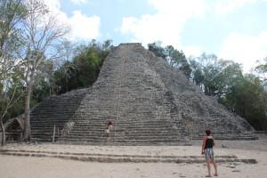 Pyramide in Coba - Mexiko