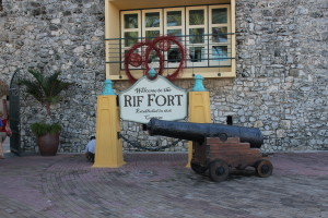 Rif Fort Eingang Willemstad Curacao