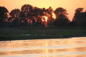 See in den Niederlanden, Sonnenuntergang