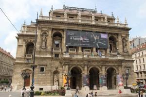 Budapest Oper in der Andrassi Ut