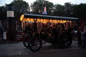 Dampfmaschine in Dordrecht während Dordt in Stoom