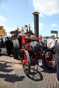 Dordrecht - alte Dampfmaschine bei Dordt in Stoom