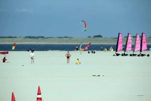 Strand an der holländischen Nordseeküste