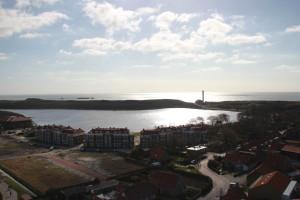 Blick auf die Küste an der Nordsee in Westkapelle