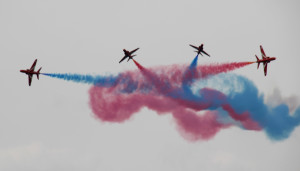 Red Arrows, Luchtmachtdagen Airshow in Holland