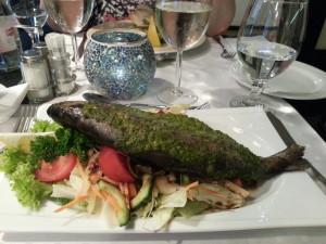 Restaurant Test, Fischgericht