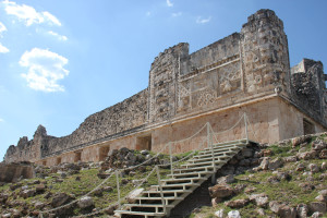 Rundgang in Uxmal