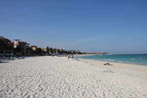 Strand in mexiko, Playa del Carmen