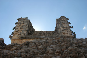 Ruine in Uxmal, Mexiko