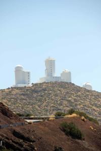 Observatorium am Teide auf Teneriffa
