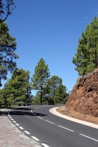 TF-21, die Straße zum Teide-Plateau auf Teneriffa