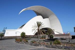 Konzerthalle Auditorio in Santa Cruz auf Teneriffa