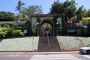 Eingang zu Jardin Botanico in Puerto de la Cruz