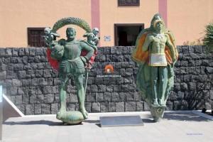 Eingang zum ethografischen Museum und Park, Güimar
