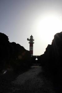 Punto del Teno, Leuchtturm auf Teneriffa