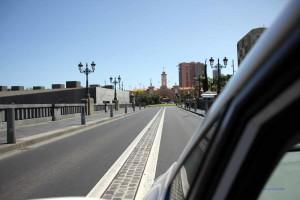Blick auf das Stadttor von Santa Cruz de Tenerife