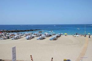 Strand von Los Christianos