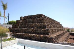 Stufenpyramide in Güimar auf Teneriffa