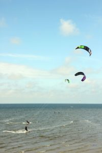Kitesurfen in Holland