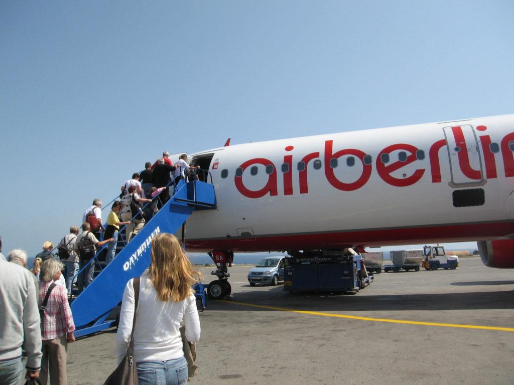 AirBerlin auf Kreta