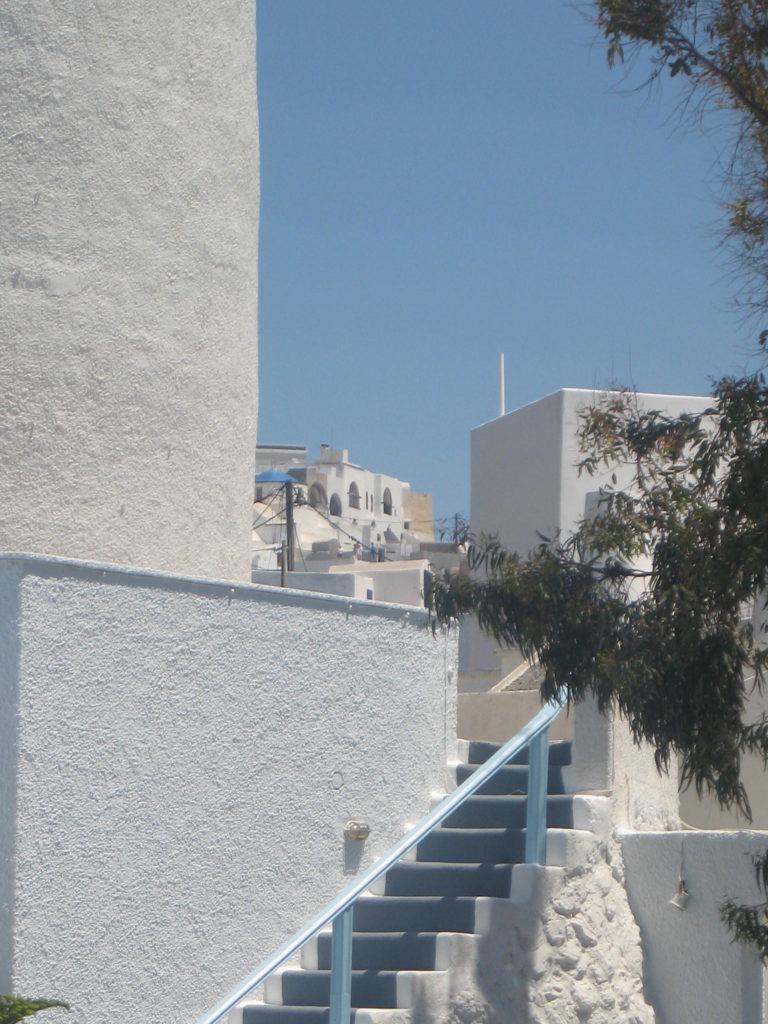 Altstadt von Fira auf Santorin