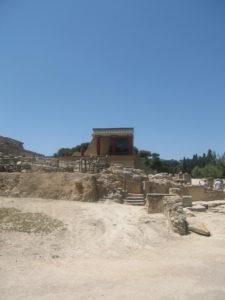 Tempel und Palast, Ausgrabungen Knossos