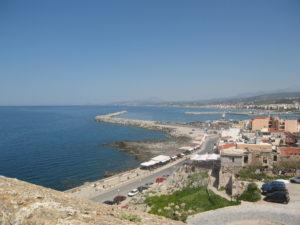 Blick auf Rethymnon, Kreta