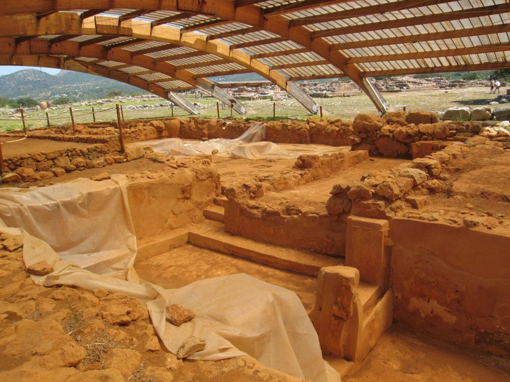 Ausgrabung auf Kreta in Malia