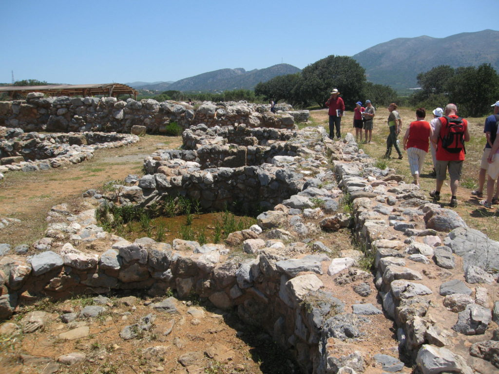 Ausgrabungen in Malia, Kreta