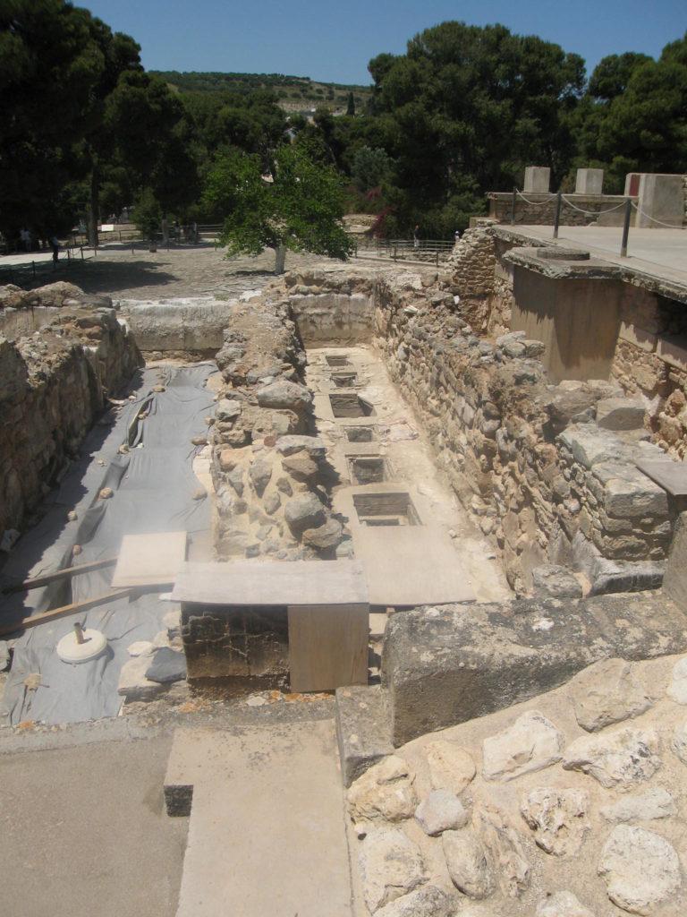 Knossos, Palast