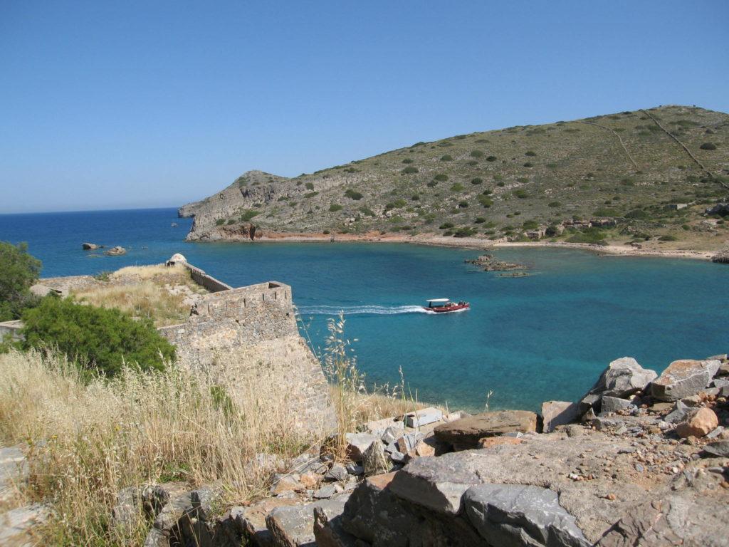 Bucht auf Kreta mit Strand