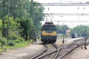 Bahn in Ungarn, Keszthely, Plattensee