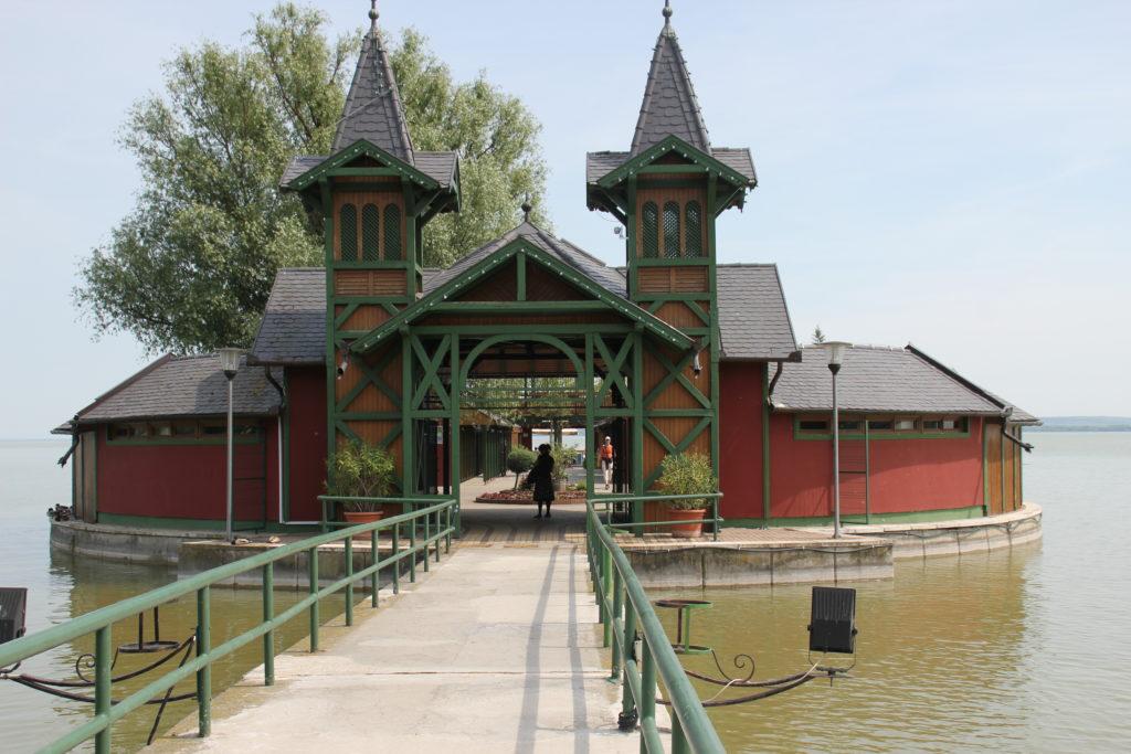 Badeanstalt am Balaton / Plattensee in Keszthely