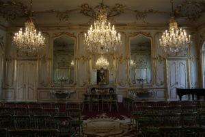 Schloss Festetics in Keszthely, Ungarn, Spiegelsaal