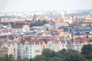 Blick auf Prag vom Hradschin